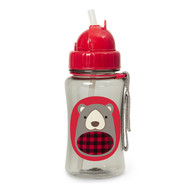Skip Hop Bear Kids Straw Bottle
