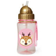 Skip Hop Deer Kids Straw Bottle