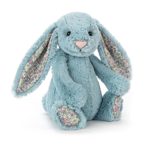 Buy Authentic Jellycat Bashful Bunny - Blossom Aqua Medium