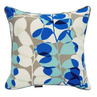 Bossima Water/Stain Guard Scatter Cushion Decor - Blue Floral (Set of 2)
