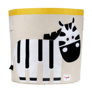 3 Sprouts Storage Bin : Zebra