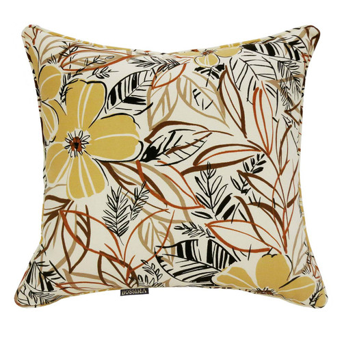 Bossima Water/Stain Guard Scatter Cushion Decor - Flaxen Floral (Set of 2)