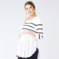 Ripe Maternity Maritime Babydoll Nursing Knit