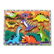 Melissa & Doug Wooden Chunky Puzzle - Dinosaur