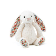 Jellycat Small Bashful Bunny - Blossom Cream Plush Toy Online