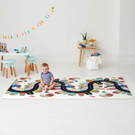 Skip Hop Doubleplay Reversible Playmat- Vibrant Village/Sketch Triangle