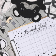 FREEBIE . Monochrome Reward Chart Printable