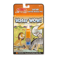 Melissa & Doug Water Wow! Safari Water Reveal Pad - On the Go Travel Activity Book