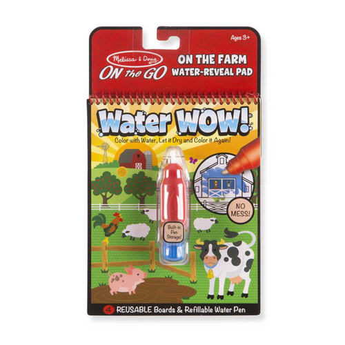 Farm Water Reveal Pad - On the Go Travel Book