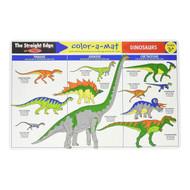 Melissa & Doug Colour A Mat Placemat - Dinosaurs