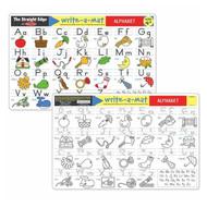 Melissa & Doug Write A Mat Placemat - Alphabet