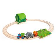 Hape Wooden Jungle Train Journey Set