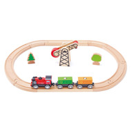 Hape Battery Powered Engine Rail Set