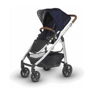 UPPAbaby Cruz 2018 Baby Stroller Taylor (Indigo/Silver Matt Fabric)