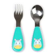 Skip Hop Zoo Fork & Spoon Utensil Set - Unicorn