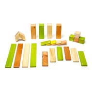 Tegu 24 Piece Magnetic Wooden Block Set - Jungle