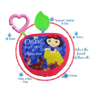 Disney Princess Teether Soft Book - Snow White