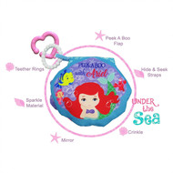 Disney Princess Teether Soft Book - Ariel Mermaid