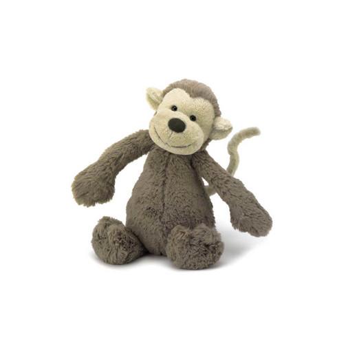 Jellycat Bashful Monkey Small Plush Toy (18cm)