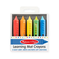 Melissa & Doug Write On/Wipe Off Crayons