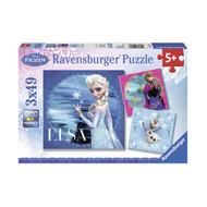 Ravensburger Disney Frozen Elsa Puzzle 3x49pc