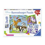 Ravensburger Disney Friends Puzzle 3x49pc (RB08043)