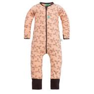 ergoPouch Organic Winter Sleep Suit - Petal Pink