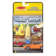 Melissa & Doug Water Wow! Vehicle Water Reveal Pad - On the Go Travel Activity Book