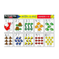 Melissa & Doug Write A Mat Placemat - Numbers 1-10