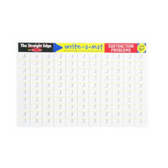 Melissa & Doug Write A Mat Placemat - Maths Subtraction