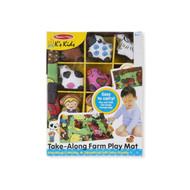 K's Kids Take-Along Farm Play Mat