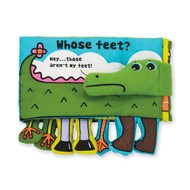 K's Kids Soft Activity Baby Book - Whose Feet?