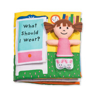 K's Kids Soft Activity Baby Book - What Should I Wear?