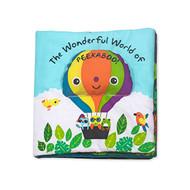 K's Kids Soft Activity Baby Book - The Wonderful World of Peekaboo