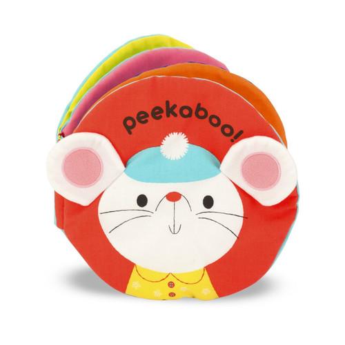 K's Kids Soft Activity Baby Book - Peekaboo