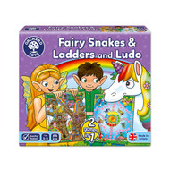 Orchard Toys Fairy Snakes & Ladders Ludo