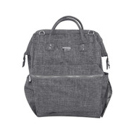 Isoki Byron XL Backpack Nappy Bag - Elliot - Grey