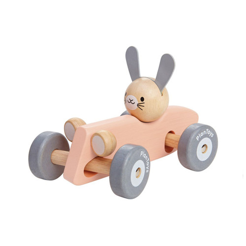 PlanToys Pastel Bunny Racing Car