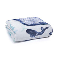 aden + anais muslin baby classic dream blanket - Seafaring