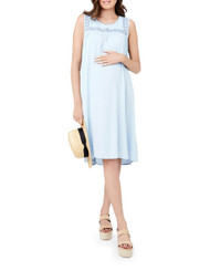 Ripe Maternity Baja Summer Dress - Chambray