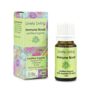 Buy Online Lively Living Pure Certified Organic Essential Oil - Immune Boost