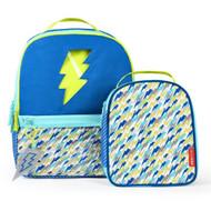 Skip Hop Lightning Forget Me Not Backpack & Lunch Bag Set