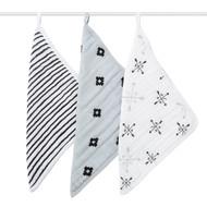 aden + anais 3 Pack Muslin Washcloth Set - Lovestruck