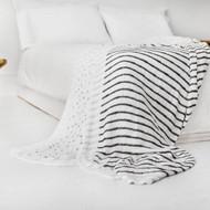 aden + anais Oversized Silky Soft Bamboo Blanket - Midnight