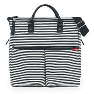 Skip Hop Black Stripe Duo Spec Edition Diaper Bag