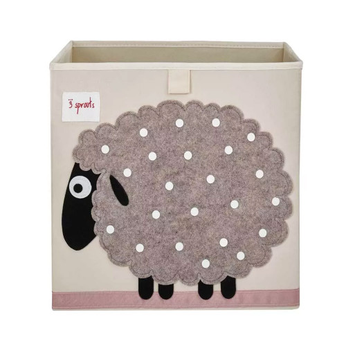 3 Sprouts Toy Storage Shelf Box Grey Sheep Cube Online