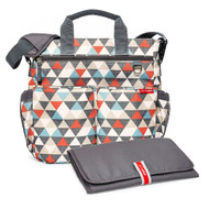 Skip Hop Triangle Diaper Bag + Padded Changing Mat