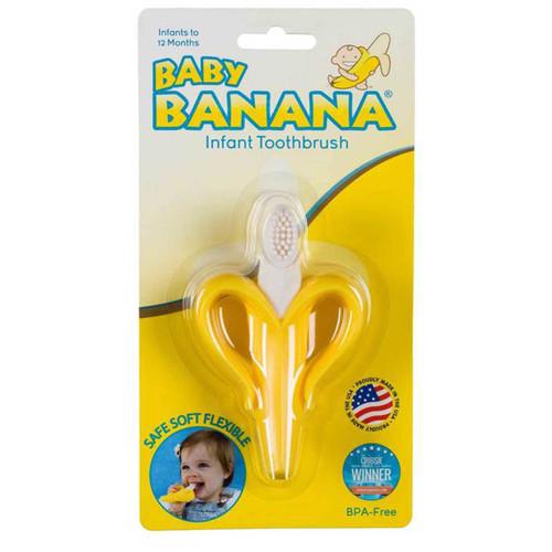 Original Banana Baby Toothbrush/Teether Online (New Packaging)