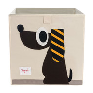 3 Sprouts Storage Shelf Box : Brown Dog