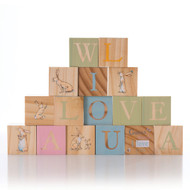 Guess How Much I Love You Wooden Learning Blocks